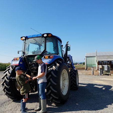 Twin Brook Creamery Tractor