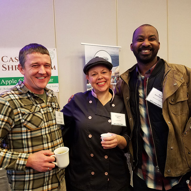 Networking at a Farmer Chef Mixer